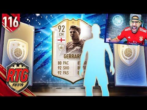 OMG I GOT 92 GERRARD *NEW PRIME MOMENTS* FIFA 19 Ultimate Team RTG #116