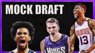2018 NBA MOCK DRAFT (Picks 1-14)