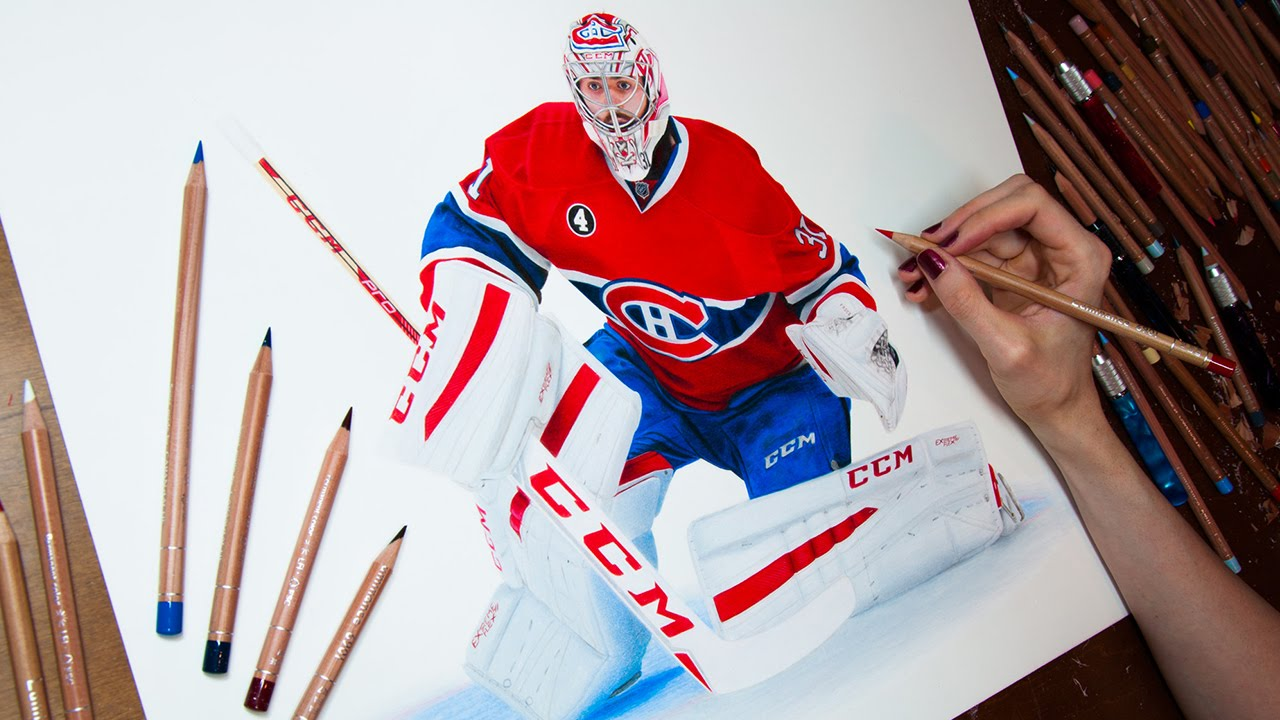 Drawing Carey Price Youtube