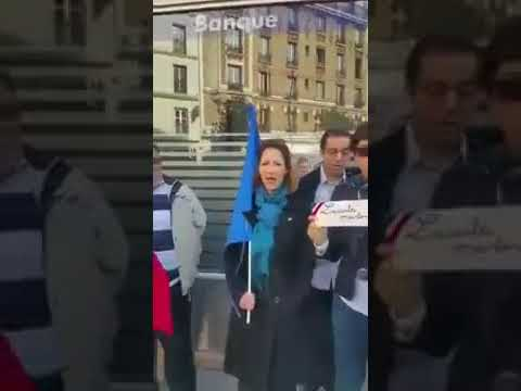 French people create disturbance during friday prayer  creat