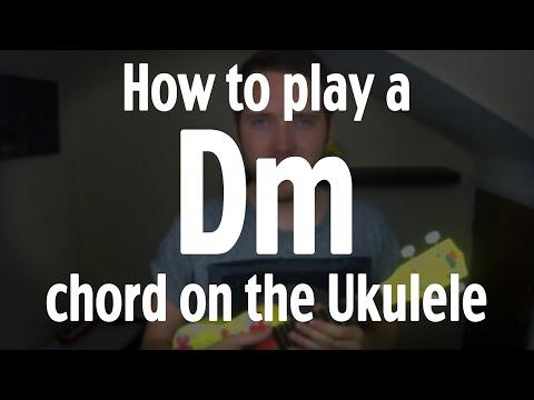 Dm Baritone Ukulele Chord Worshipchords