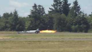 Jet car vs jet aircraft