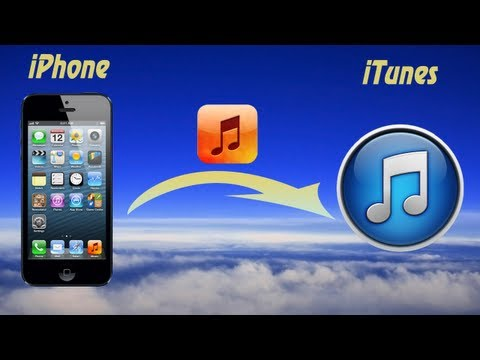 How to Transfer Music from iPhone to iTunes or Get music off iPhone or Upload Music to iPhone?