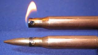 Зажигалка 7,62мм из 2х гильз