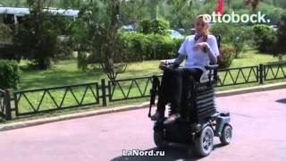 Инвалидная коляска с электроприводом(Купить инвалидную коляску с электроприводом можно в магазине LaNord.ru. Доставка по Москве и всей России., 2015-10-08T14:17:35.000Z)