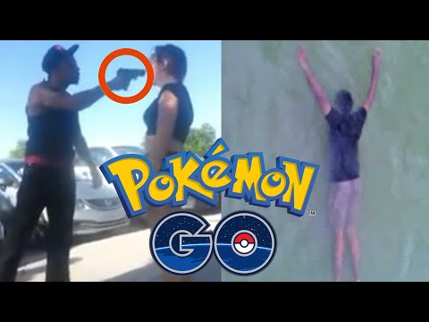 Thumbnail: Top 5 Craziest POKEMON GO Moments! (Shootings, Murder, Robbery)