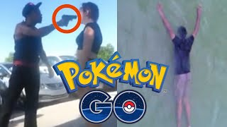 Top 5 Craziest POKEMON GO Moments! (Shootings, Murder, Robbery)