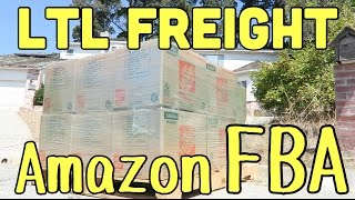 How to do LTL Freight Shipping (Pallets) Into Amazon FBA - Bulk Books Reselling W Reezy Resells