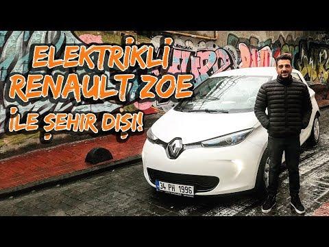 Doğan Kabak   Elektrikli Otomobil   Renault ZOE ile Şehir Dışına Çıktım