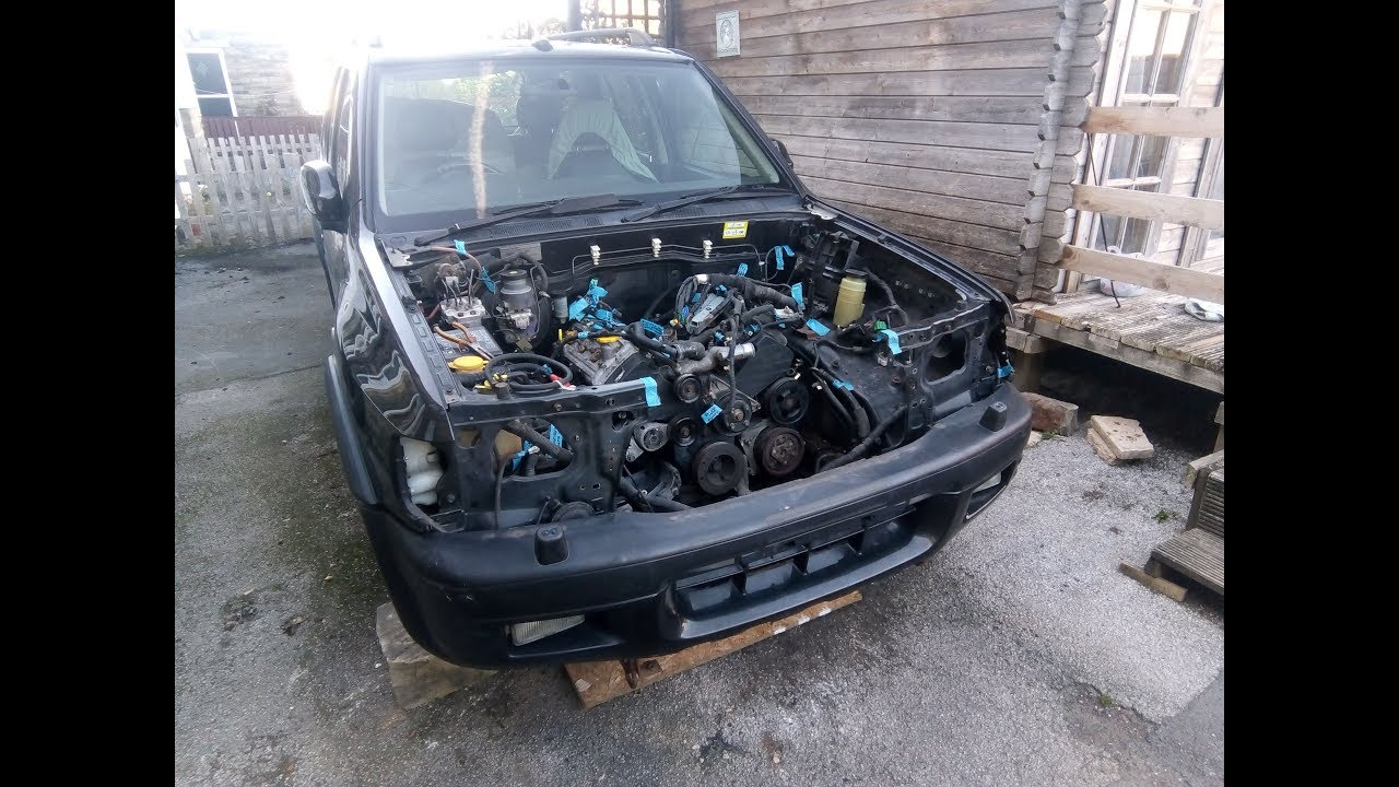 Holden Rodeo 4x4 V8 Conversion