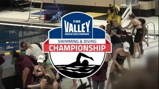 2019 MVC Swimming & Diving Championship | Finals | Feb 23rd