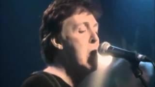 "Paul McCartney ""Blue Jean Bop"""