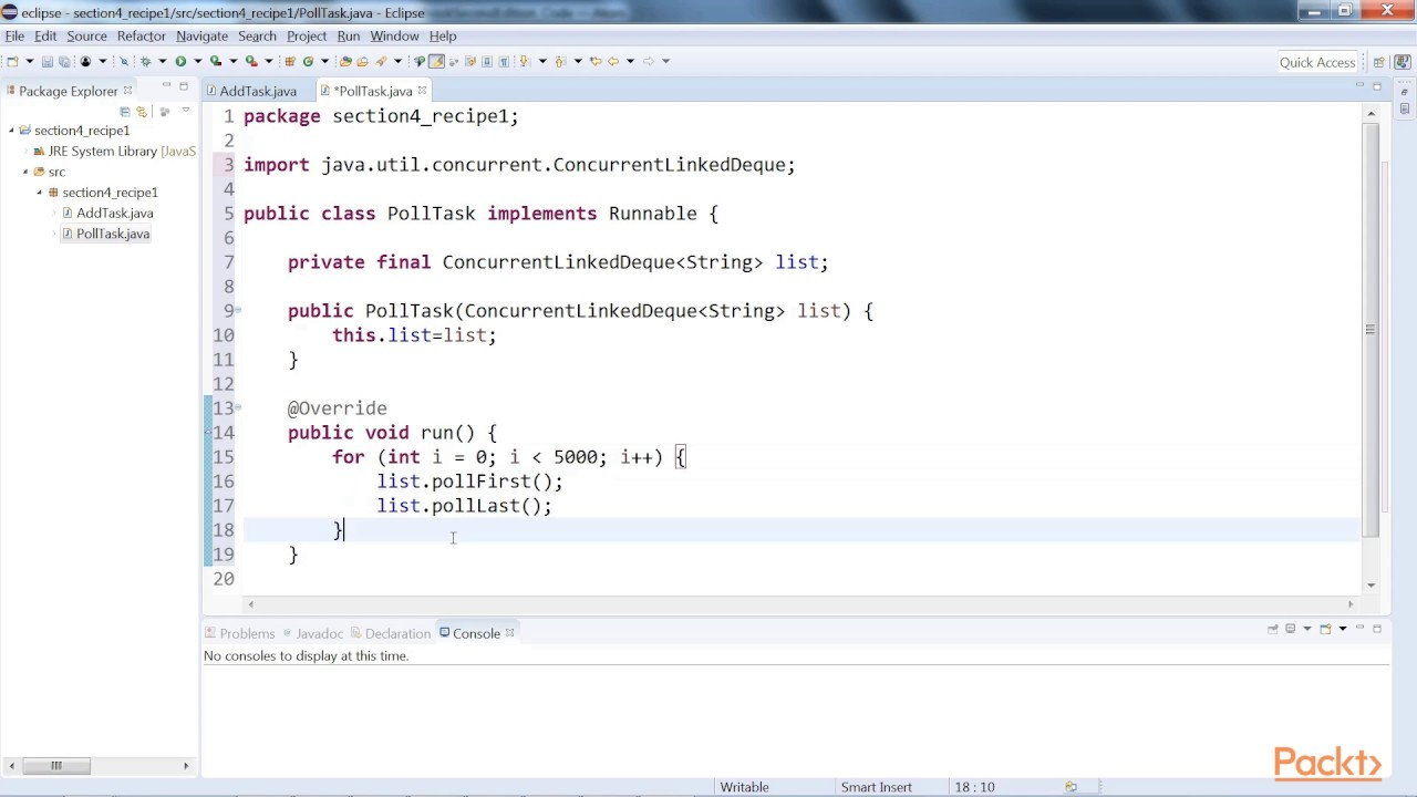 Java 9 concurrency high level elements using non blocking thread java 9 concurrency high level elements using non blocking thread safe deques packtpub baditri Gallery