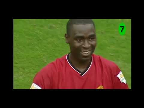 Andy cole 2000/01 Manchester united