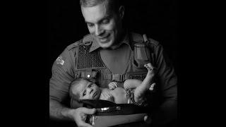 Homenagem pelo Dias Dos Pais ao Policial Militar