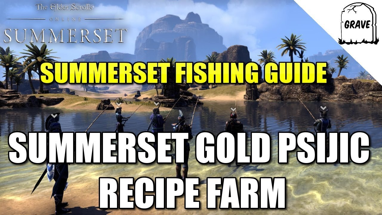 Ps4 eso summerset fishing in summerset gold recipe farm youtube ps4 eso summerset fishing in summerset gold recipe farm forumfinder Images