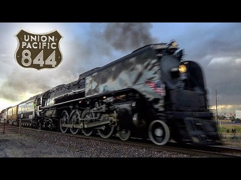 Union Pacific 844 - Cheyenne Frontier Days Train 2016