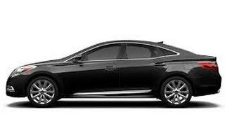 2014 Hyundai Azera/Grandeur Test Drive/Review by Average Guy Car Reviews