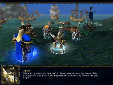Warcraft 3 компания альянса на двоих