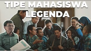 17 Tipe Mahasiswa yg Bakal Legend Selamanya