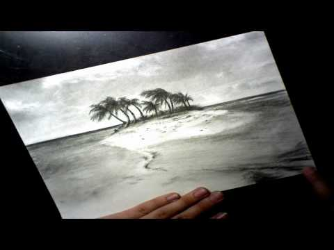 tropical Island Speed Drawing