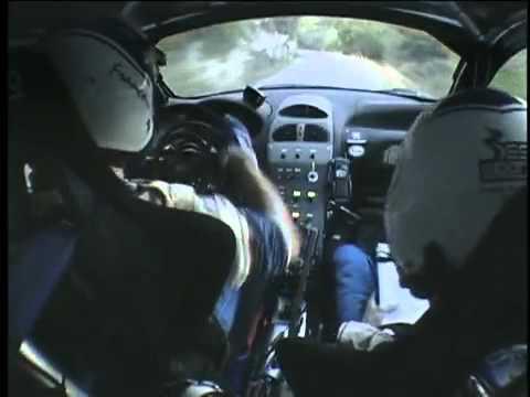 Peugeot 206 WRC avec François Delecour