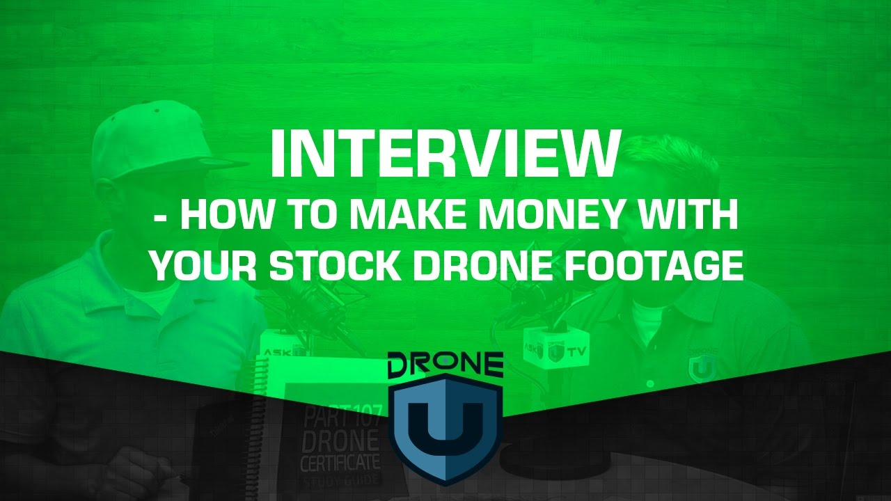 How to make money with your stock drone footage - YouTube