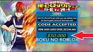 170k Likes Code Boku No Roblox Acikiwir Gaming