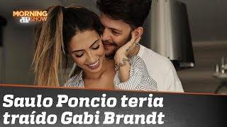A internet não está sabendo lidar com a suposta traição do cantor Saulo Poncio