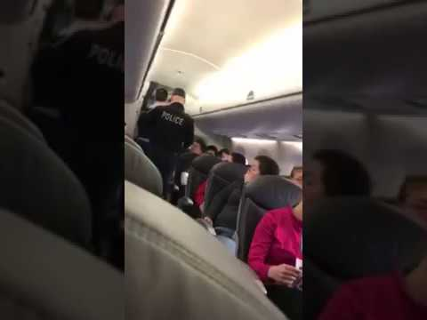 New Footage Shows United Passenger Before He Was Dragged Off Plane   More