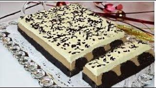 Kolay Bisküvili PİŞMEYEN PASTA - Bisküvi Pasta Tarifi