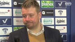Ketterä - Jokipojat 5-0 lehdistötilaisuus 11.3.2020