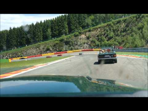 TVR S3 at Spa Francorchamps, Spa Classic 2012 - You