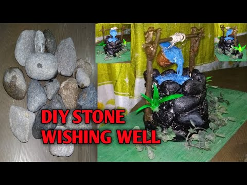 diy-stone-wishing-well