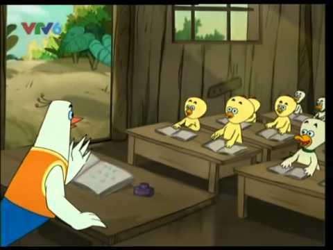 Dạy trẻ tập nói-Phim hoạt hình lớp học bồ câu tập 7-cách dạy trẻ tốt- trẻ thông minh