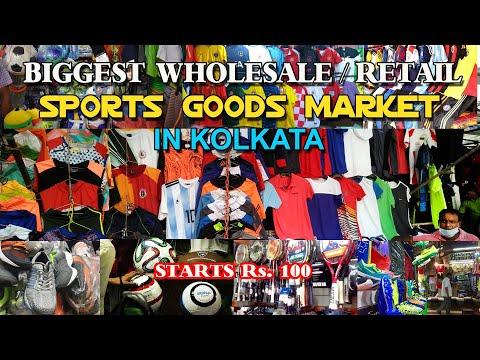 Spotrs Goods Wholesale/Retail Market In Kolkata, Maidan Market, Dr. Bidhan Chandra Roy Market, Kol.
