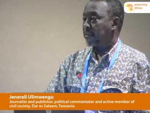 eLA 2011 Plenary Speech: Jenerali Ulimwengu