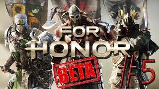 For Honor #5 4v4 Citadel Gate Dominion Kensei Samurai Closed B…