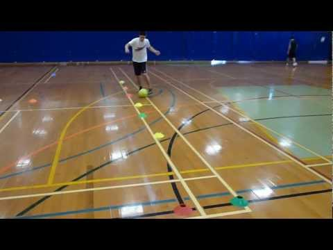 Dribbling Test Sam Townsend