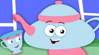 i m a little teapot   nursery rhymes by zebra   songs for kids