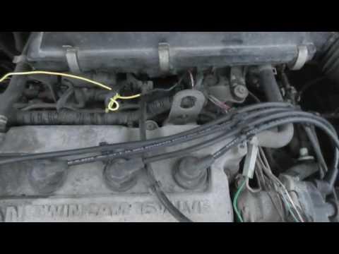 Ремонт Nissan Primera P11 отказ инжектора обрыв.