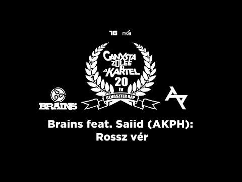 Brains feat. Saiid (AKPH) feat. Ganxsta Zolee - Rossz Vér (Ganxsta Tribute)