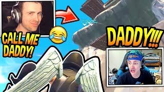 NINJA GETS TROLLED BY DRLUPO! CALL ME DADDY!! *HILARIOUS* Fortnite FUNNY & SAVAGE Moments