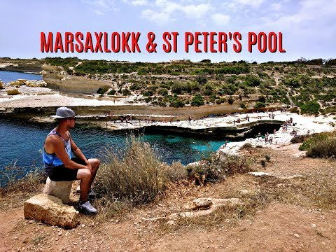 Marsaxlokk Fishing Village Market and St Peter's Pool - Malta