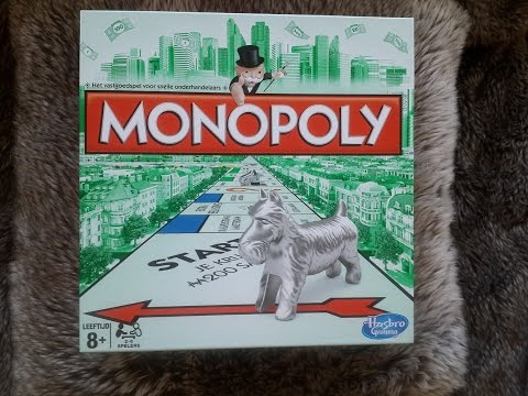 Monopoly game show and tell. Tapping. Triggers. ASMR