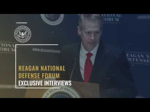Exclusive Interview w/ C.I.A. Director Mike Pompeo — 2017 Reagan National Defense Forum