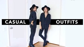 Four Casual Everyday Outfits