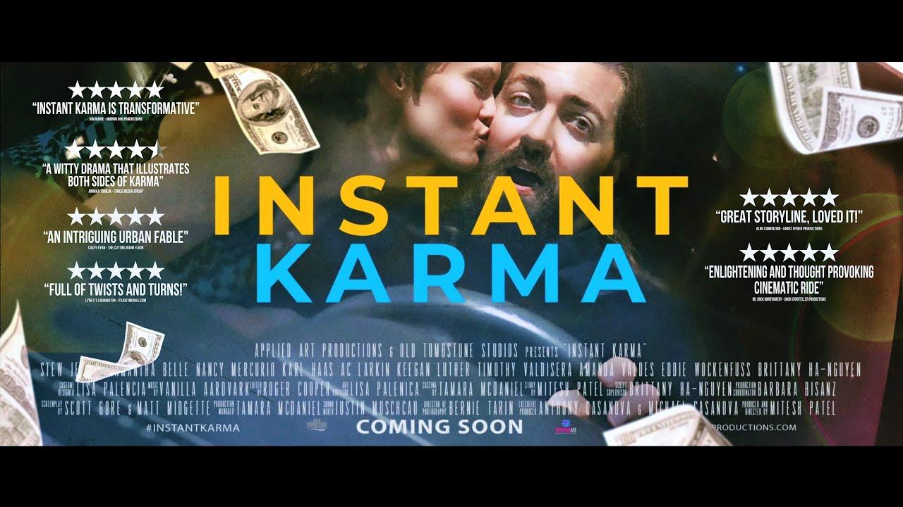 INSTANT KARMA Trailer (2021)