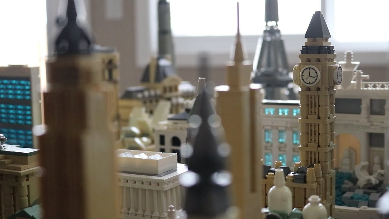 lego architecture collection entire