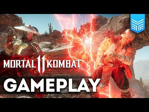 MORTAL KOMBAT 11: GAMEPLAY COM TODOS OS PERSONAGENS